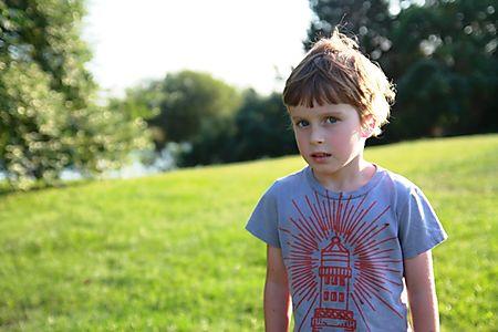 Roan at park