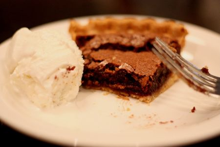 Darby fudge pie